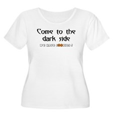 darkside cookies Plus Size T-Shirt