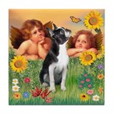 Two Angels / Boston (#3) Tile Coaster