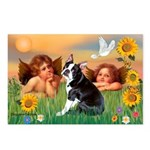 Two Angels / Boston (#4) Postcards (Package of 8)