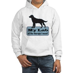 Black Lab Therapy - Hooded Sweatshirt
