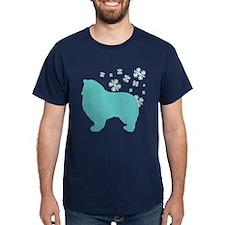 Collie Snowflake T-Shirt