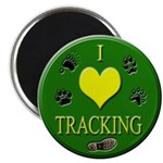 I love tracking Magnet (100 pack)
