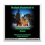 St Patricks Georgetown Tile Coaster