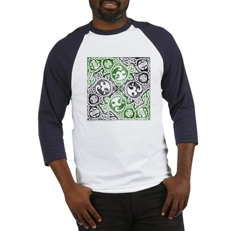 Celtic Puzzle Square Baseball Jersey