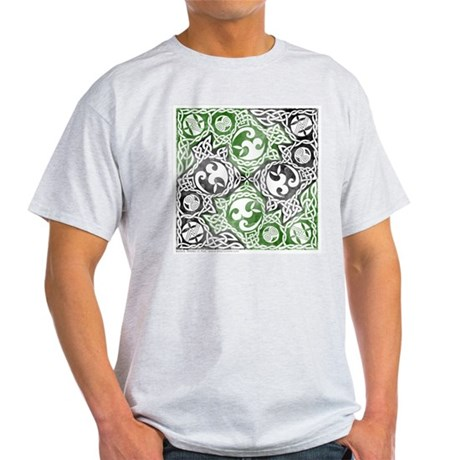 Celtic Puzzle Square Light T-Shirt