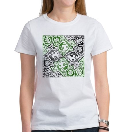 Celtic Puzzle Square Women's T-Shirt