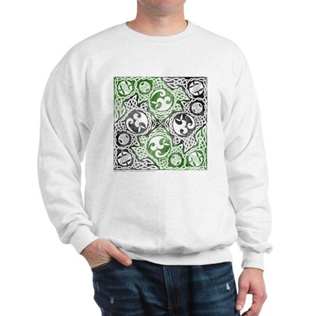 Celtic Puzzle Square Sweatshirt