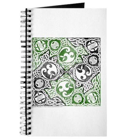 Celtic Puzzle Square Journal