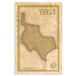 Republic Of Texas Large Poster