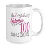 100th Birthday Gift Ceramic Mugs