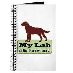Chocolate Lab Therapy - Journal