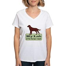 Chocolate Lab Therapy - Shirt