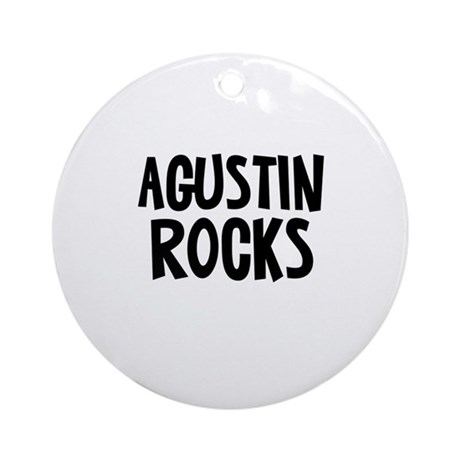 Agustin Rocks Ornament (Round)