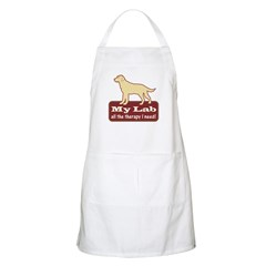 Yellow Lab Therapy - BBQ Apron