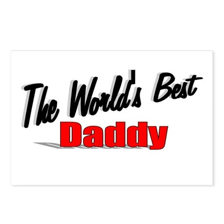 """The World's Best Daddy"" Postcards (Package of 8)"