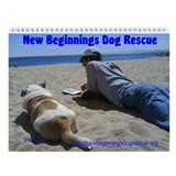 New Beginnings Dog Rescue Wall Calendar
