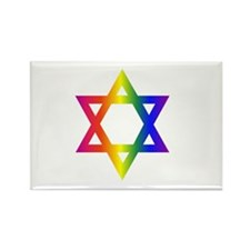 Cute Jewish gays Rectangle Magnet