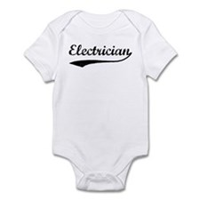 Electrician (vintage) Infant Bodysuit