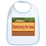 DEMOCRACY FOR IOWA Bib