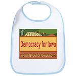 DEMOCRACY FOR IOWA Bib