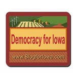 DEMOCRACY FOR IOWA Mousepad