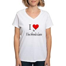 I Love My Technician Shirt