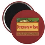 DEMOCRACY FOR IOWA Magnet