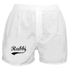 Rabbi (vintage) Boxer Shorts