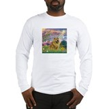 Cloud Angel & Chow Chow Long Sleeve T-Shirt