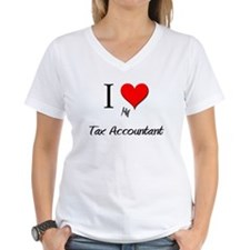 I Love My Tax Accountant Shirt