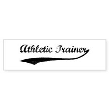 Athletic Trainer (vintage) Bumper Bumper Sticker