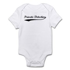 Private Detective (vintage) Infant Bodysuit