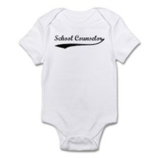 School Counselor (vintage) Infant Bodysuit