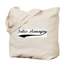 Sales Manager (vintage) Tote Bag
