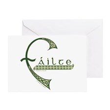 Failte Design Greeting Card