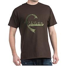 Failte Celtic Design T-Shirt in Dark Colors