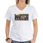 Big Butts Women's V-Neck T-Shirt