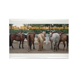 Big Butts Rectangle Magnet (100 pack)