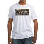 Big Butts Fitted T-Shirt