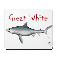 Great White Image Mousepad