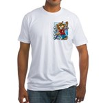 Cat & Mouse Skateboard Fitted T-Shirt