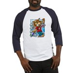 Cat & Mouse Skateboard Baseball Jersey