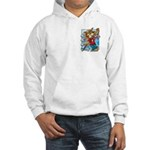 Cat & Mouse Skateboard Hooded Sweatshirt