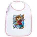 Cat & Mouse Skateboard Bib