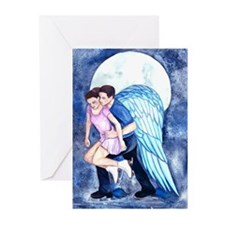 Gordeeva and Grinkov Never Alone Greeting Cards (P