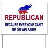 Republican Yard Sign