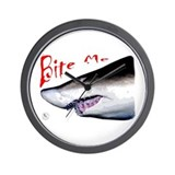 Shark: Bite Me Wall Clock
