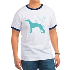 Greyhound Snowflake T