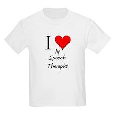 I Love My Speech Therapist T-Shirt