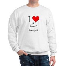 I Love My Speech Therapist Jumper